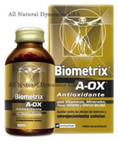Biometrix A-OX Vitaminas 100 Capsulas Envio Gratis